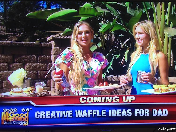 Sunday Brunch Waffle Bar - Fathers Day Waffle Brunch Ideas 8 (1)