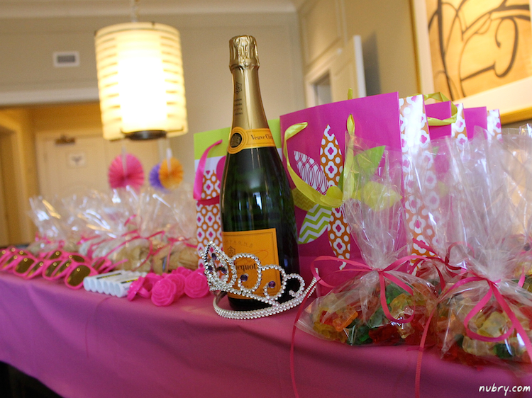 bachelorette survival kit - must have party goodies gifts and treats 1