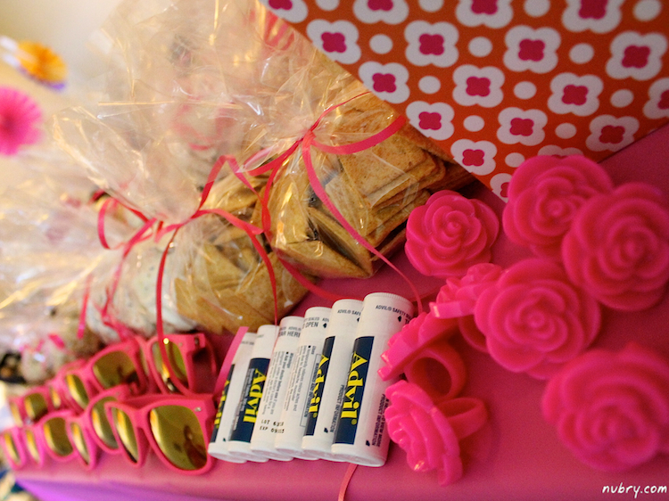 bachelorette survival kit - must have party goodies gifts and treats 4