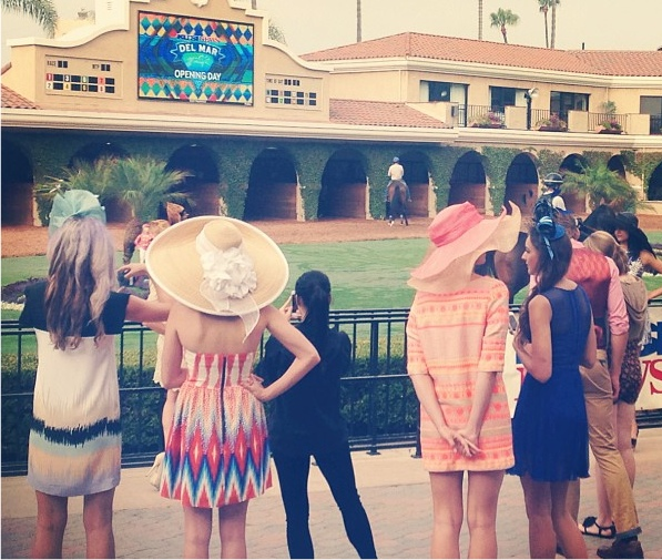 Del mar style races opening day