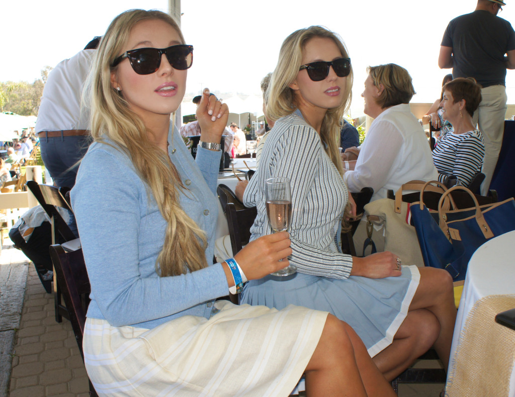 What To Wear To A Polo Classic - Tommy Hilfiger Skirt and Sweater