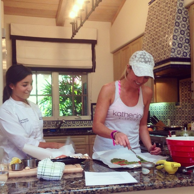 k sport beauty bootcamp at rancho valencia - nourished baance - nubry