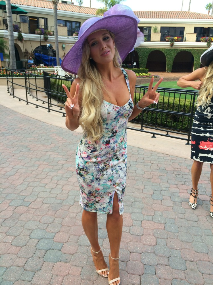 opening day, kusi news, del mar race track fashions, carol bader
