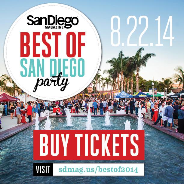 Best of San Diego Magazine nubry