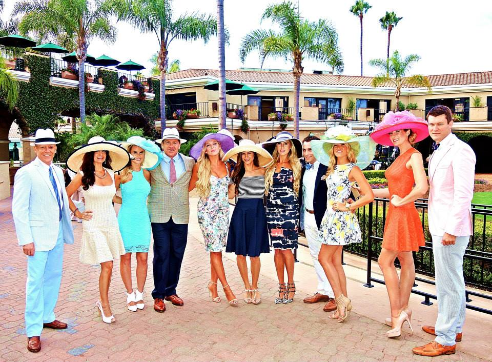 Opening Day Del Mar Races Fashion4