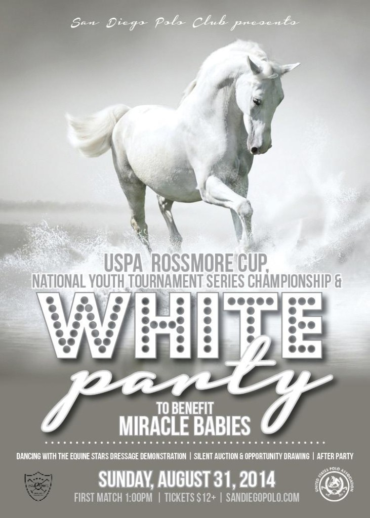 San diego polo miracle babies white party labor day weekend