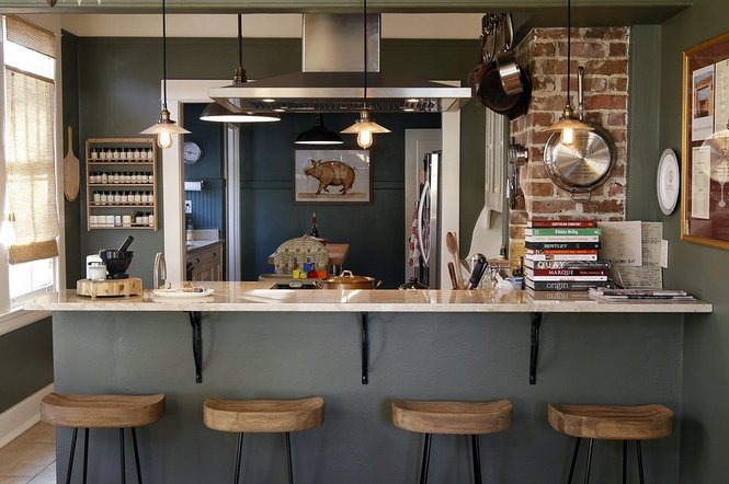 detox your kitchen - organized apartment kitchen - beautiful home