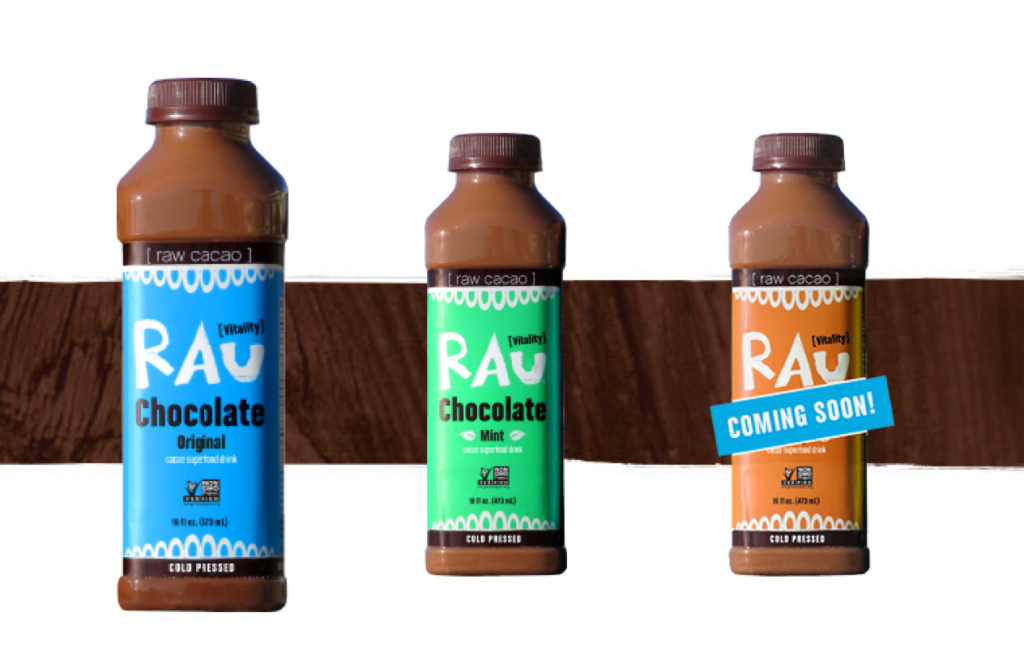 healthy chocolate drinks -- rau vitality drink