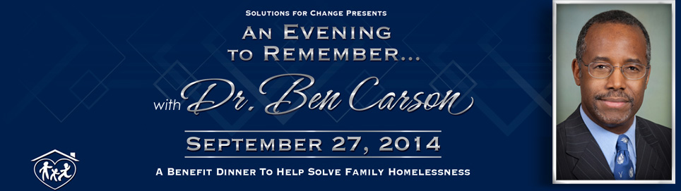 Solutions for change Family Homelessness charity gala