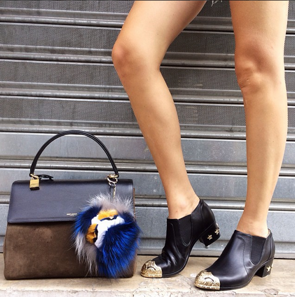 essential Fall Fashion Booties -  Chanel capped toe bootie