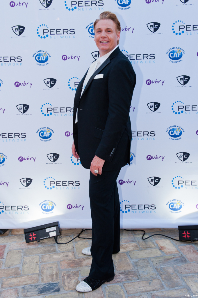 Leonard Simpson PEERS Gala La Jolla Most Stylish pantherella events