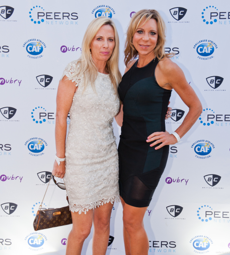 Lisa Odenweller Beaming Founder PEERS Gala La Jolla Most Stylish pantherella events