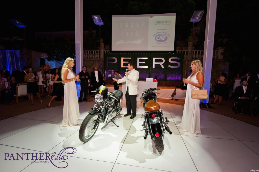Britt Hackmann Gretchen Hackmann PEERS Gala La Jolla Most Stylish pantherella events