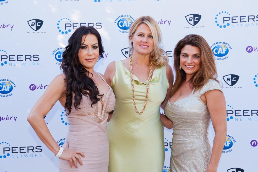 Herve LEger blush gown PEERS Gala La Jolla Most Stylish 33