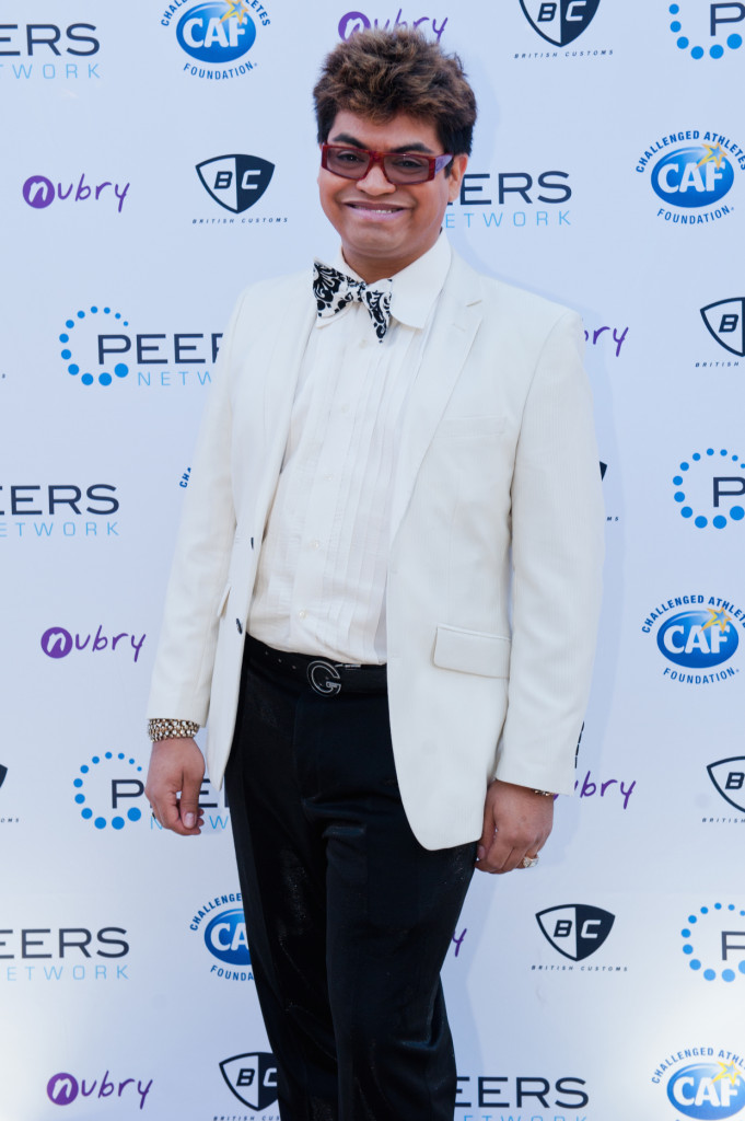 John Jiminez PEERS Gala La Jolla Most Stylish pantherella events