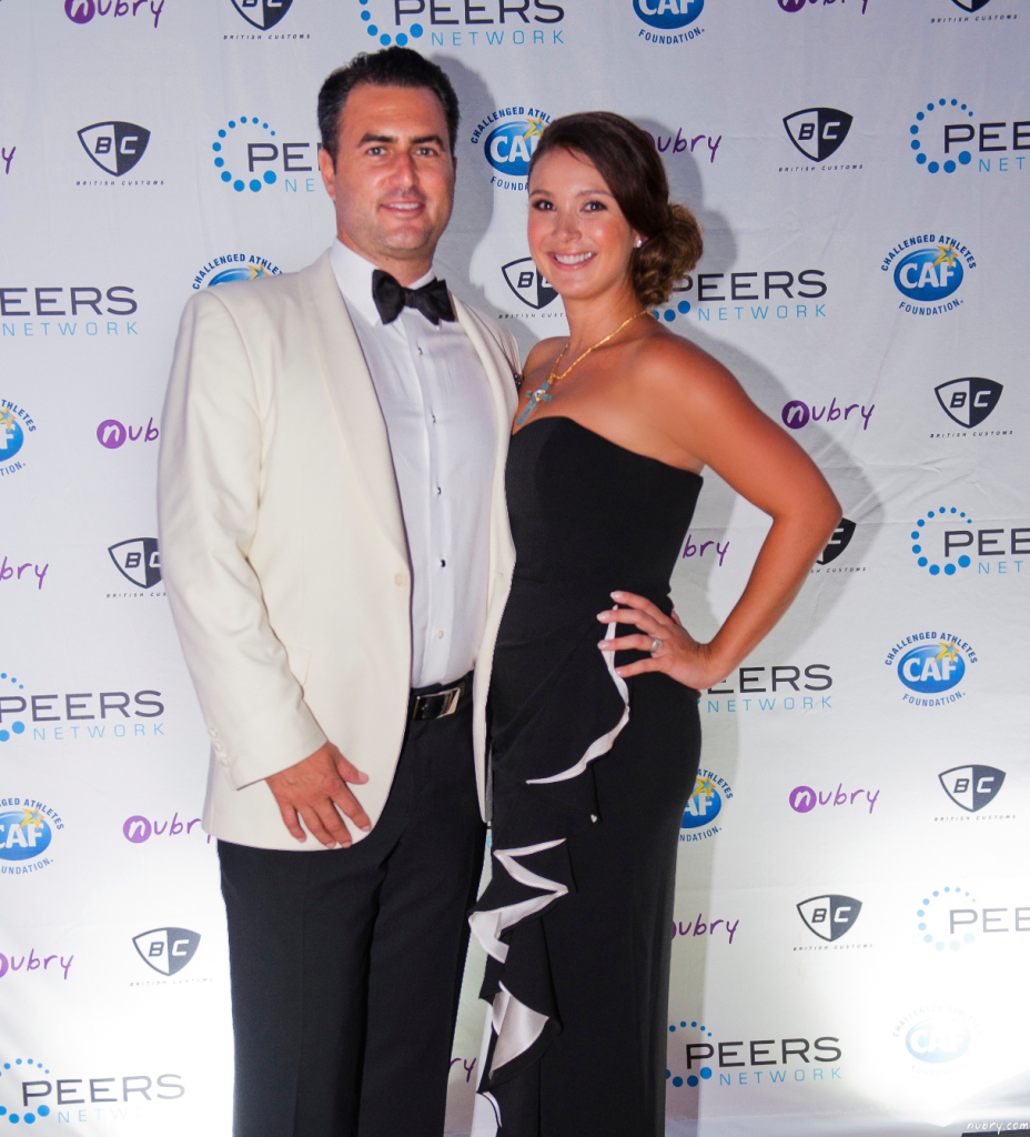 Janelle Panther James Panther PEERS Gala La Jolla Most Stylish pantherella events