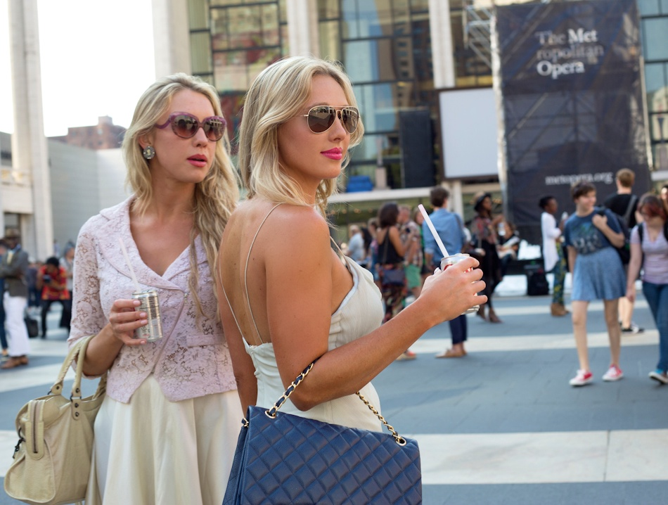 nubry new york fashion week spring 2015 street style - Yuna Yang Collection 1