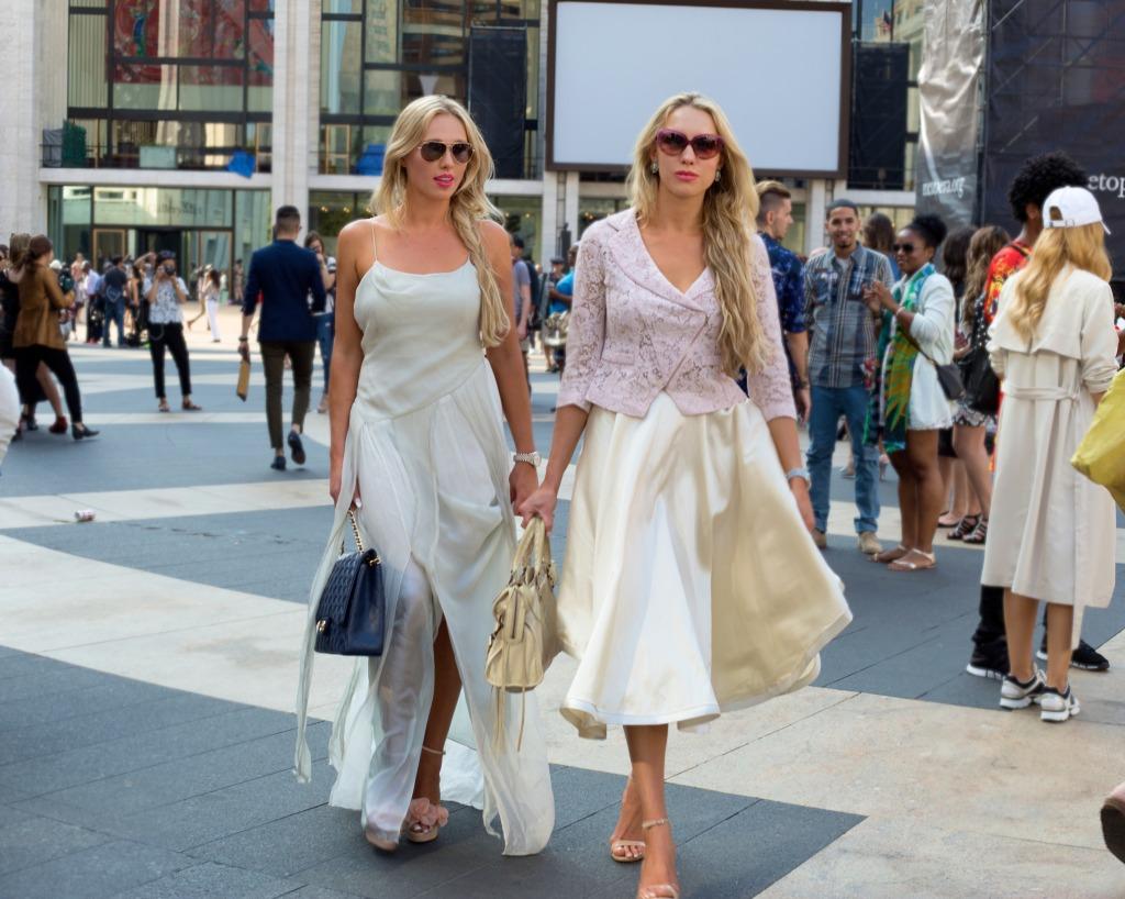 nubry new york fashion week spring 2015 street style - Yuna Yang Collection