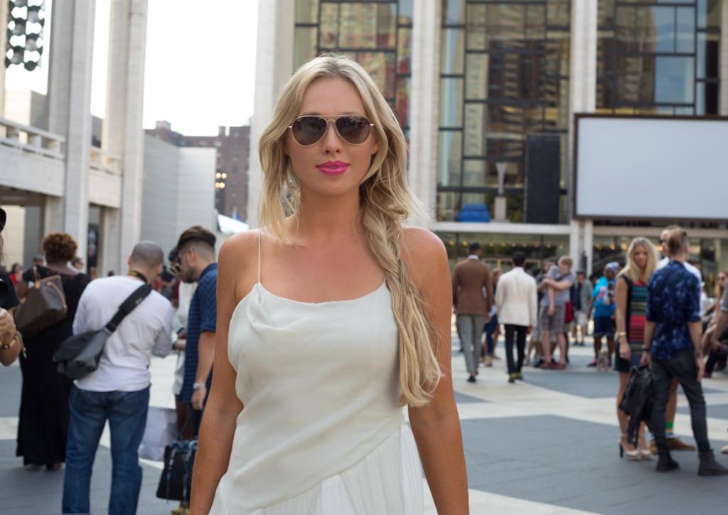 nubry new york fashion week spring 2015 street style - Yuna Yang Collection 11