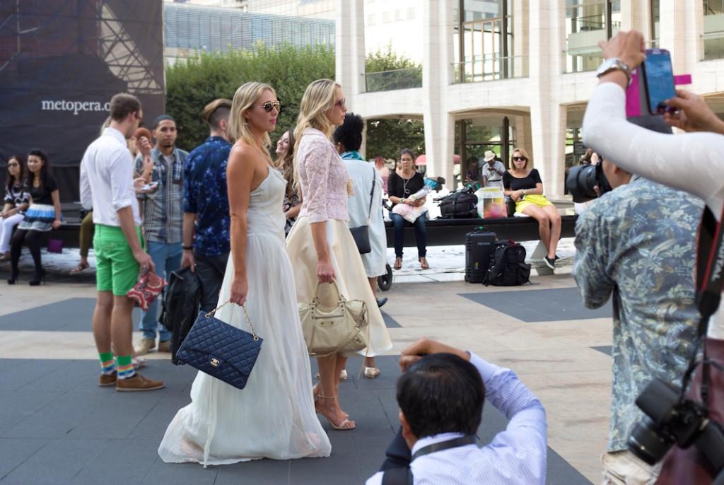 nubry new york fashion week spring 2015 street style - Yuna Yang Collection 17