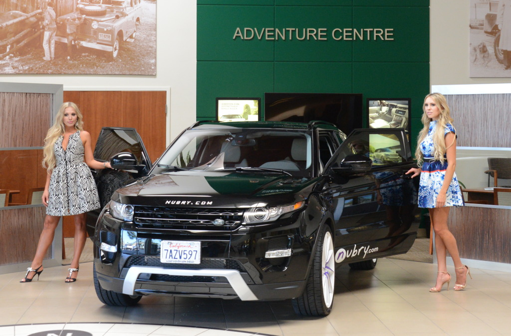 range rover evoque  customized by Nubry - Land Rover San Diego