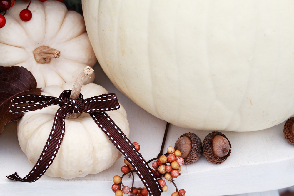 5 pumpkin decorating ideas - painted designer pumpkins