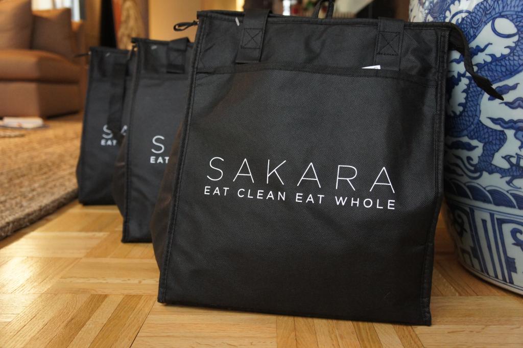 Sakara organic vegan food delivery