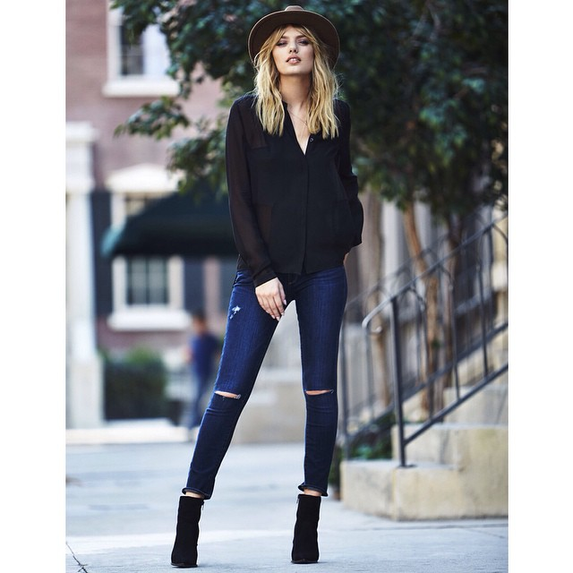 fall fashion essentials - skinny jeans - paige jeans