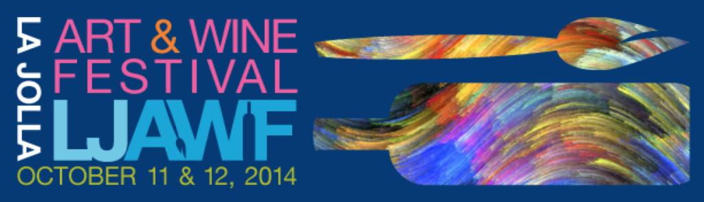 la jolla art and wine festival banner 2014 beer fest party