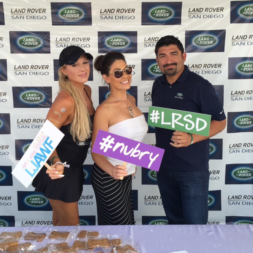 san diego events - la jolla art and wine festival with land rover san diego and nubry 7