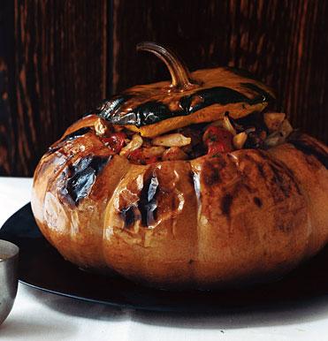 stuffed pumpkins for halloween or thanksgiving