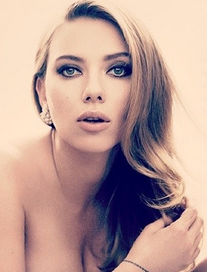suki waterhouse celebrity brunette and scarlett johansson brunette