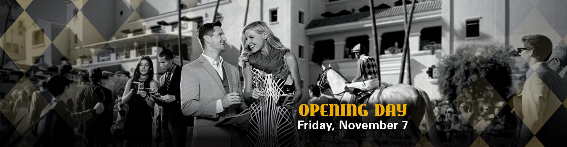 Bing Crosby Opening Day Del Mar Novemeber