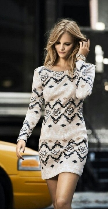 cute thanksgiving outfits - sweater dresss