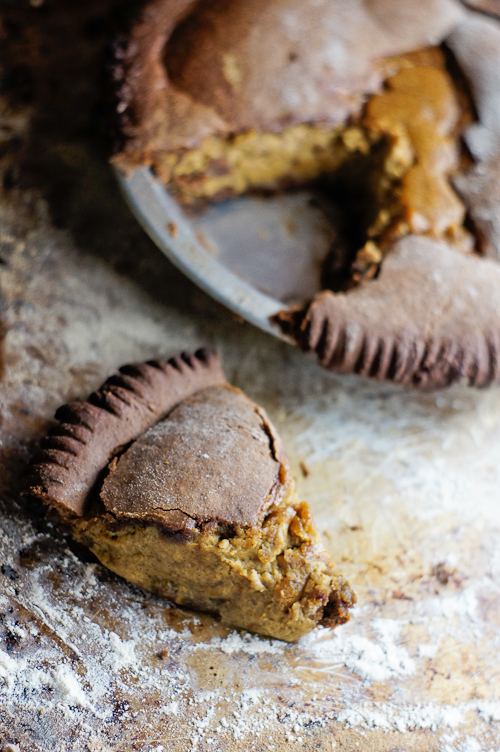 how to stay healthy during holidays- pumpkin pie