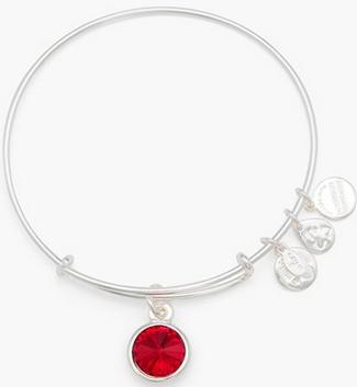 Alex Ani Birthstone Bracelet Ruby Holiday Gift Ideas