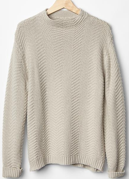 Gap Cable Knit Sweater Vanilla Holiday Gift Ideas