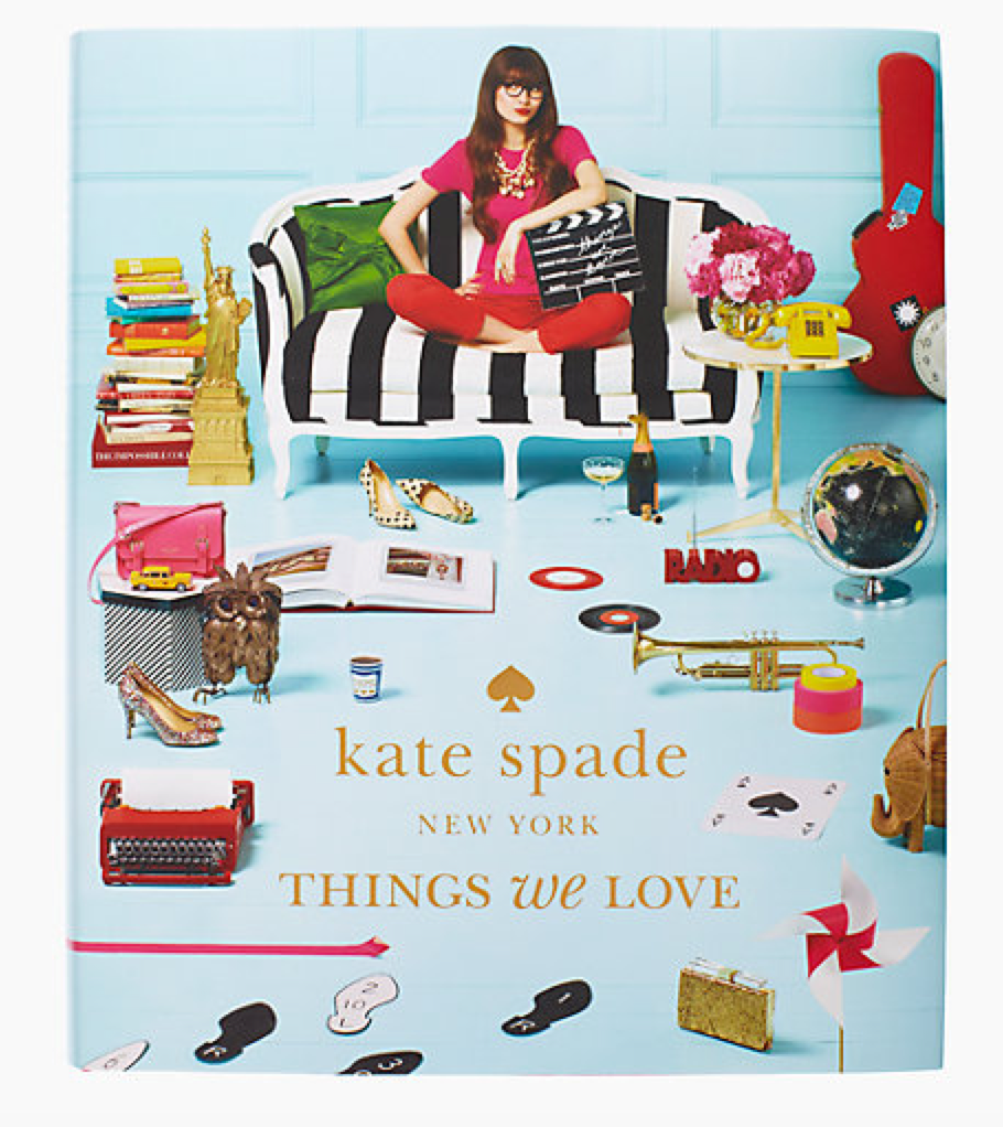 Kate Spade NY Things We Love Coffee Table Book