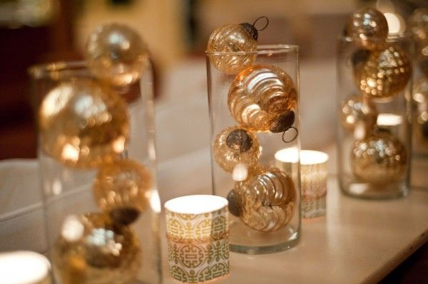 No Fuss New Year's Eve Tips For The Party Host - repurpose christmas ornaments for nye
