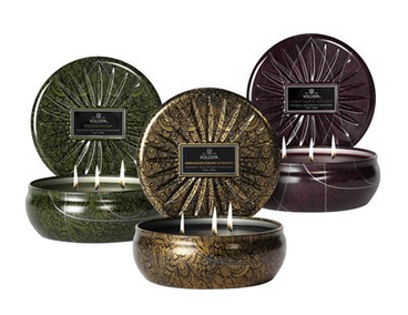 Voluspa Candle Set Holiday Gift Ideas