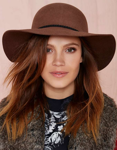 Wide Brimmed Felt Floppy Hat Holiday Gift Ideas Nasty Gal