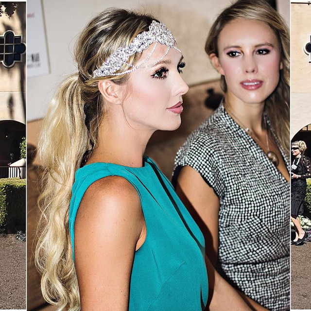 bing crosby del mar races opening day - nubry - what a betty headband - nicole miller resort 2015