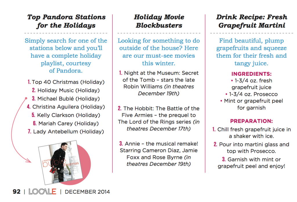 locale magazine holiday music and holiday movies nubry
