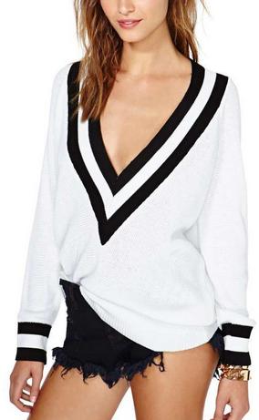 sweaters for women nasty gal boys club deep vneck sweater