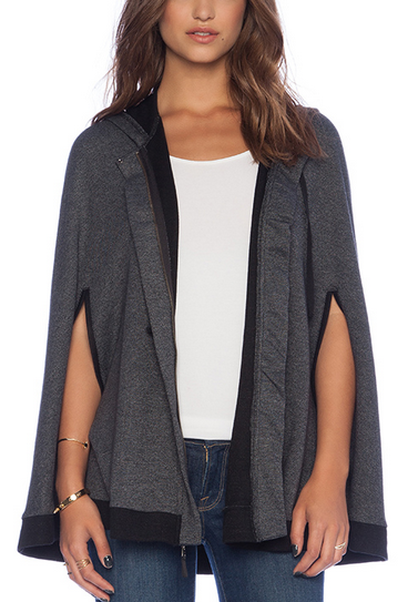 sweaters for women revolve clothing grey cape sweater