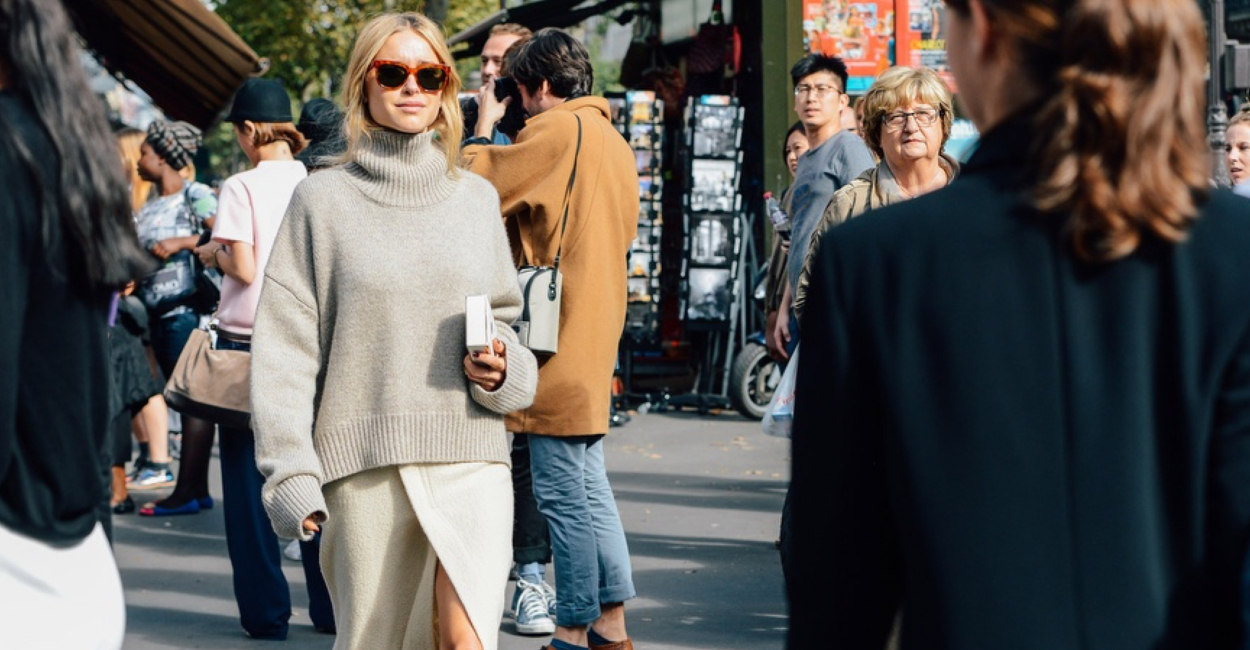 Fashion Guide how to wear the turtleneck Sweater now jacket - if you