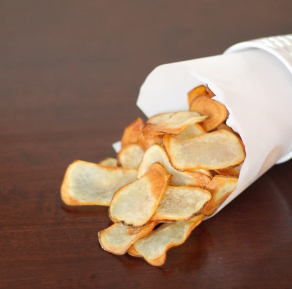 Baked Russet Potato Chips | Photo Credit Momables