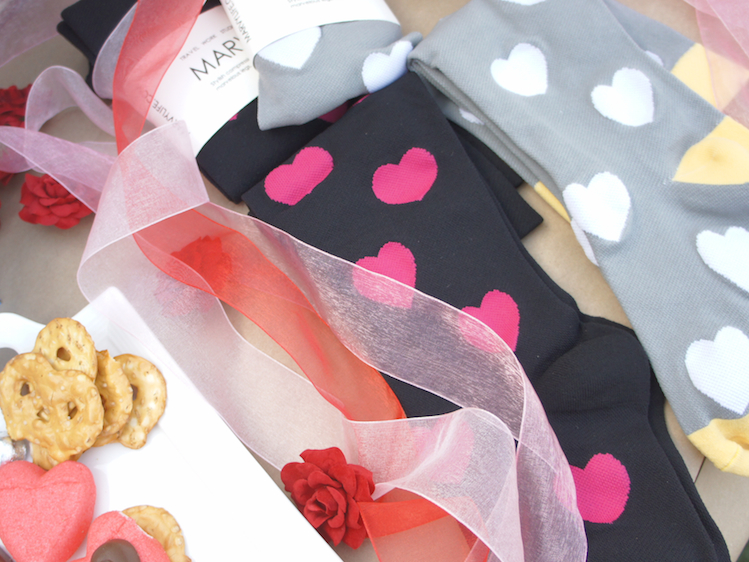 Marvy Compression socks for valentines day