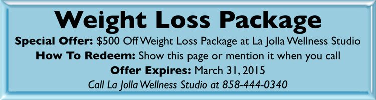 weight loss package - coupon graphic