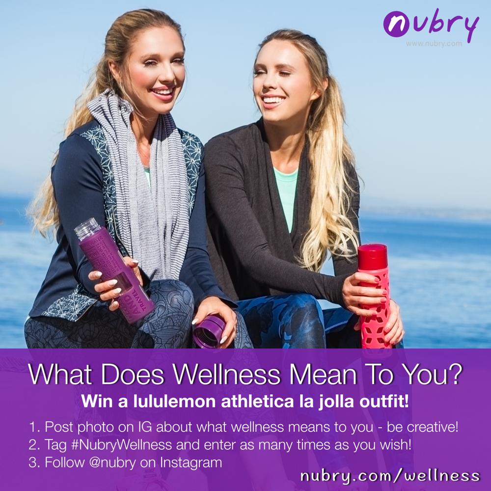 Nubry Wellness Giveaway Image